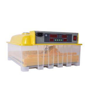 Sıcaklık Kontrolü Torna 48Eggs Dijital Temizle Yumurta İnkübatör Hatcher Otomatik