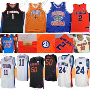 2020 Florida Gators Stats баскетбол Джерси NCAA College Keyontae Johnson Noah Locke Tre Mann Scottie Lewis Nembhard Omar Payne Noah