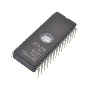 Yeni ST M27C512-12F1 27C512 DIP-28 EPROM IC CHIPS Sürücü IC
