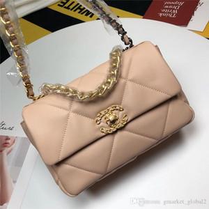 New Women Handbag flap bag Lambskin Gold-Tone Silver Tone Finish Metal Black White Leather Designer Luxury Dinner Bag