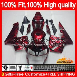 Инъекция OEM для Honda CBR 600RR 600F5 CBR600F5 CBR600 RR 03 81HC.9 темно-красный новый CBR600RR CBR 600 RR F5 03 04 2003 2004 100% FIT