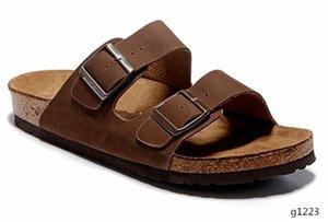2019 Arizona Mayari Gizeh street summer Men Women pink flats sandals Cork slippers unisex Sandy beah casual shoes print mixed size 34-45 t14