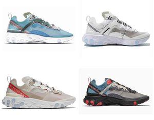 Element 55 UNDERCOVER 87 Women Mens Running Shoes Light Bone triple black bred Olive Camo Volt fly mesh Trainers Sneakers runner