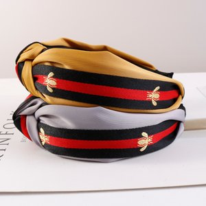 Mulheres Moda de Hairbands grife headbands Bandas listrado Headband para adulto Imprimir Acessórios de cabelo Atacado