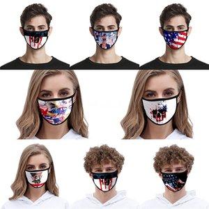 США Флаг Designer Face Mask 2020 Президент США Выборы Печать Зонт Dust Trump Mouth противогазы с фильтром # QA194