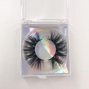 5D Mink Lashes Vendeur 15mm 18mm 20mm 5D Cruelty Lashes réel gratuit Vison Cils pour le maquillage