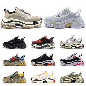 2020 balenciaga triple s shoes designer schuhe für Männer Frauen Jahrgang platform sneakers schwarz weiß Bred 20fw Luxus Herren Turnschuhe große Sohle Sport Sneakers