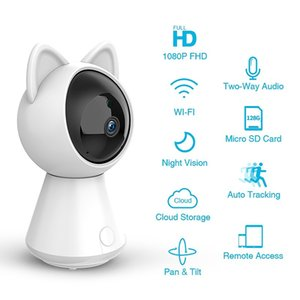 HD 1080 무선 네트워크 돔 카메라 WIFI 홈 보안 모니터 IP 카메라 360도 지능형 인체 센서 추적