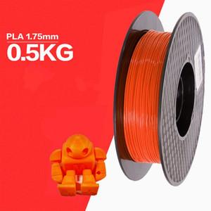 1set 500g PLA 1.75mm Filament 3D Printer Matériel d'impression Consommables d'impression Filament pour l'impression 3D Pen imprimante 3D