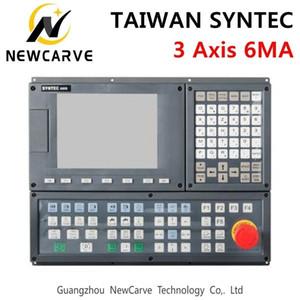 대만 Syntec 6ma 3 축 Cnc 밀링 머신 컨트롤러 LCD 디스플레이 3 축 서보 위치 제어 시스템 Newcarve