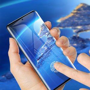 3D изогнутое закаленное стекло полное покрытие Покрытие HD Screen Protector Flim Scratch для Xiaomi Mi Note 10 Pro Huawei P40 Pro Mate Honor 30 Nova 7