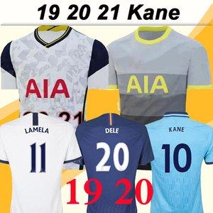 19 20 Tottenham Hotspur KANE LAMELA SON Hommes Football Maillots New DELE ERIKAEN Accueil Blanc extérieur 3ème Chemises Football SISSOKO LLORENTE Uniformes manches courtes