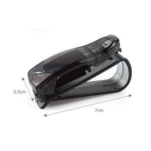 New Chegou Car Sun Visor Óculos Ticket óculos de sol Cartão Receipt Holder Clip armazenamento braçadeira coleção clipe