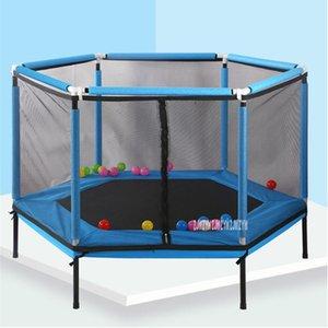 2566 Household Salto Bounce Bed Proteger Net Equipada Indoor Infantil Trampolim Bouncing Bed Interativo Jogos de Fitness