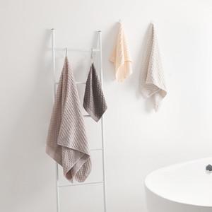 Strandtuch Set Thick Badezimmer Mikrofaser Thick Bad Wrap Individuell gestaltete Stickerei Handtuch Günstige Erwachsene Cotton Toallas Gym EE50YJ