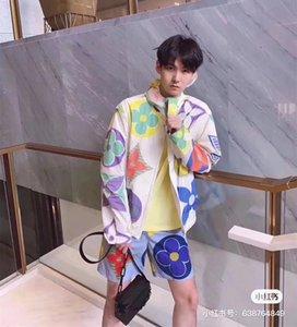 2020 del logotipo del monograma Bombardero de lujo de diseño de la cremallera chaquetas de los hombres ocasionales de las mujeres rompevientos con capucha fina reflectante gg Outwear la chaqueta v