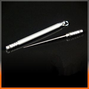 Medizinisch TC4 Titanlegierung Integriert Zahnstocher Kombination im Freien beweglichen Obst Gabel Multifunktionale Zahnstocher EDC-Tool Ultra Light