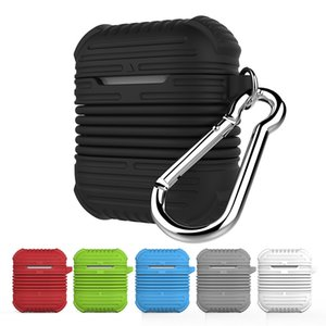Bluetooth headset silicone cover anti-drop rope cover with a thick anti-drop headset cover