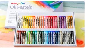 Crayon 12/25/36/50 lavável Cor Pastel Oil / Fontes da arte / desenho / pastel