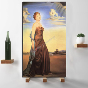 Salvador Dali Jesus On The Cross And Sleeping Paintings On Canvas Modern Art Wall Pictures For Living Room Home Decoration