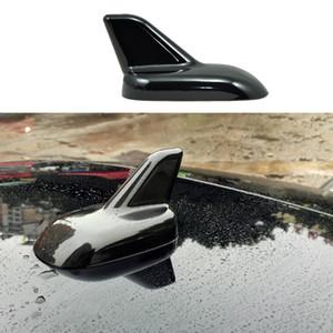 Black Car Exterior Tetto Decorazione Shark Fin Antenna Sticker per Smart fortwo forfour 2009 2010 2011 2012 2013 2014 2015 2016 2017 2018