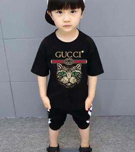 Fashion New Designer Brand 1-9 Years Old Baby Boys Girls T-shirts Summer Shirt Tops Children Tees Kids 4 colour Clothing biofr8s