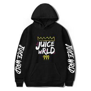 Erkek Kapüşonlular Rapçi Suyu wrld Hip Hop Baskı Kapşonlu Sweatshirt Bayan / Bay Giyim Sıcak Satış Hoodies Kazak beden 4XL