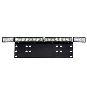 Universal 5D Lens LED Light Bar Offroad with License Installation Bracket for Car SUV ATV Pickup 12 24V High Beam Headlight Bulb