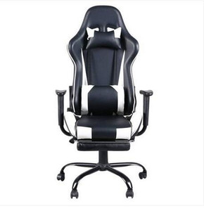 Wholesales Hot sales Free shipping High Back Swivel Chair Racing Gaming Chair Office Chair with Footrest Tier