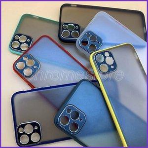 Matte Silikon TPU Telefon-Kastenabdeckung für iphone11 11 pro Max Schutz Mobil Matte Frosted Hüllen Anti-Drop mit Kamera Schutz