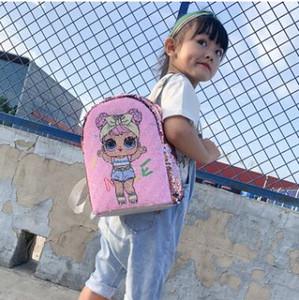 الترتر لعب اطفال دمى مصمم لول ظهره أكياس تخزين الكرتون الفتيات حقائب تحمل على الظهر هوب جيب هدايا عيد الميلاد لعبة أكياس LOL