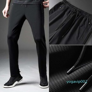 Spring and summer ice silk pants men and women jogging pants breathable loose and quick-drying leisure sports...