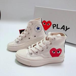 2020 yeux d'amour des années 1970 amour coeur gros yeux enfants chaussures de course de skate fille garçon jeune enfant du sport Sneaker taille 28-35