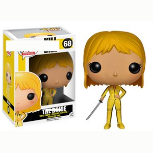 Funko Pop Kill Bill Vol Bride Action Figures Toy With Box Collectible Model Toys for Kids Birthday Gift toy 68#