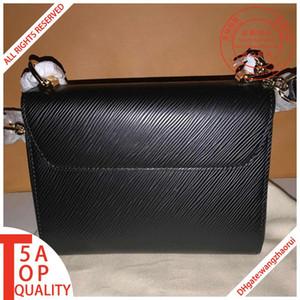 Mujeres del diseñador para hombre monedero mensajero bolsas de cuero real del bolso del hombro del diseñador vagabunda CrossBody de la cartera de la moda femenina mochila con cuadro