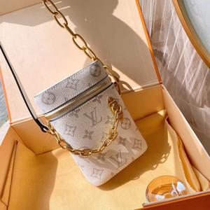 célèbre marque de haute qualité Designer Sac bandoulière femmes Petit sac à bandoulière couleur grand Zipper Mini carré Sacs mobile Femmes Messenger han YY04