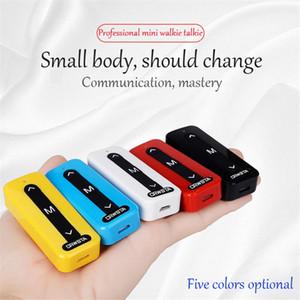 20pcs V1 extérieur civile Petite Mini Talkie-Walkie Vibration Wireless Handheld Antinterférence miniature Adapté pour site Hôtel DHL gratuit