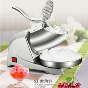 Hot selling electric ice crusher with small body and large capacity does not take up space