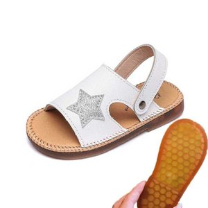 Children Sandals 2019 Summer Kids Beach Shoes Toddler Sandal Boy Girl Sandals Non Slip Child Shoes Black White Pink #47