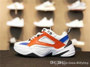 tekno tasarımcı moda baba ayakkabılar 4m2k yeni IV Monarch pembe köpük zapatillas kaliteli erkek ve kadın klasik ayakkabılar