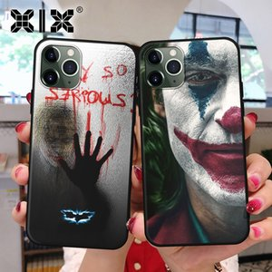 XIX para iPhone Funda 11 Pro Caso 5 5S 6 6S 7 8 Plus X XS Max 2019 Joker for Cover iPhone 7 Soft Case TPU para XR caso do iPhone