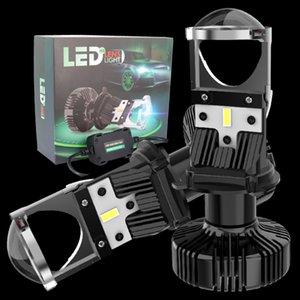 JALN7 Car H4 LED Headlight LENS 2pcs 76W 10000LM High Beam Lamp Low Beam Bulb Super Driving Lights Upgraded 6500K 12V Truck 24V