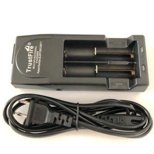 Smart Trustfire TR-001 Charger Интеллектуальные зарядные устройства 18650 Fit Fit 18650 26650 18350 батарейки Зарядные устройства для электронных сигарет