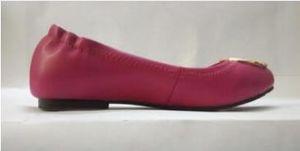 venta caliente del mocasín de los holgazanes famosa marca de diseñador de viajes Prom Pisos hebilla de metal de los planos del ballet de las mujeres de piel de oveja zapatos de cuero genuino SZ 35-41
