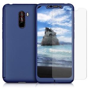 360-Grad-harter Telefon-Kasten für Xiaomi Serie F1 Stoß- Schutzganzkörper-Gehäuse mit gehärtetem Glas-Schirm-Schutz