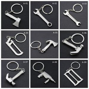 أدوات الإبداع معدنية سلسلة المفاتيح التخييم في الهواء الطلق مرنة البسيطة أدوات وجع كيت المشي لمسافات طويلة الطوارئ حلقة مفاتيح الرئيسية مفتاح قلادة DH1269 T03