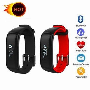 P1 Smartband Montres Bluetooth Sang intelligent Bracelet moniteur de fréquence cardiaque intelligent Wristband Fitness pour Android IOS Phone