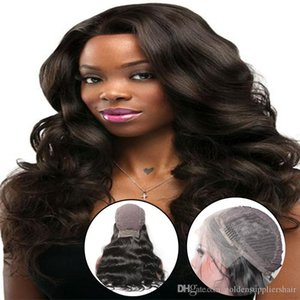 BD Große Spitze-Front-Perücken Menschenhaar-Perücke-Körper-Wellen-malaysisches Menschenhaar kaufen 24 Zoll Körper Perücken für schwarze Frauen