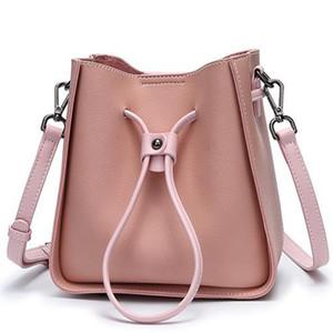 Bolsas Bolsas Moda Couro Bucket Bolsa sacola Mulheres de Bolsas de Ombro Backpack Mulheres sacos bolsas N40153