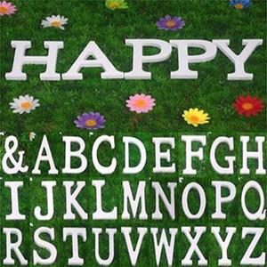Mescolare 27 lettere 8cm wooden lettere inglesi ornamento per la casa o decorazione di nozze Fotografare oggetti di scena
